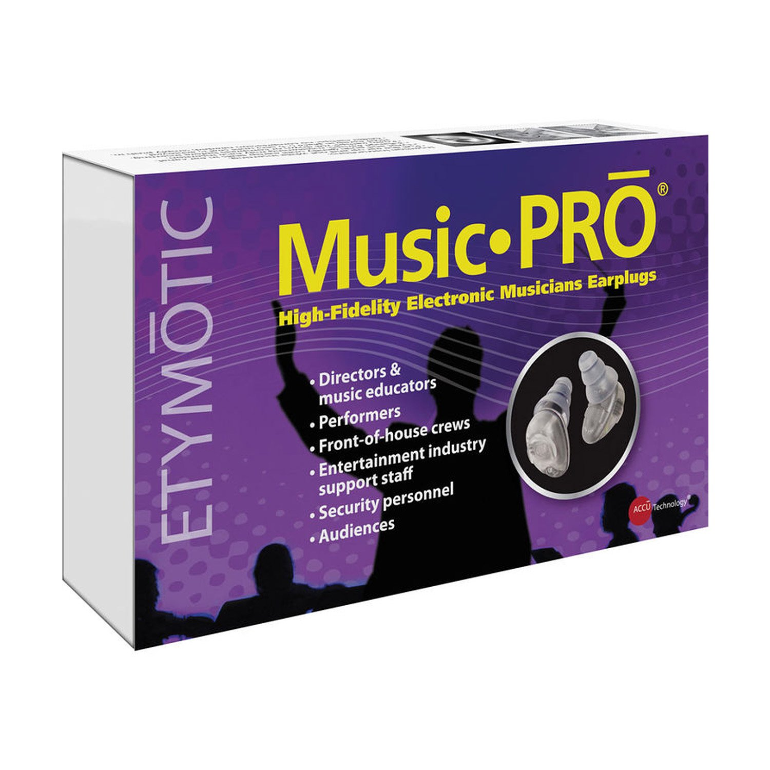 Etymotic Research ER125-MP9-15BN MP9-15 Music PRO High Fidelity Universal Fit Electronic Earplugs (Pair) with Carrying Pouch by Etymotic Research (Image #5)