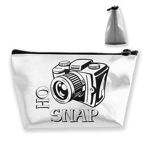 Trapezoid Toiletry Bag Bolsa de Viaje portátil Oh Camera ...
