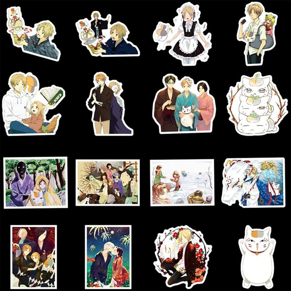 Beautymei Anime Cartoon Bumper Patches Decals Car Stickers Motorcycle Bicycle Skateboard Luggage Phone Pad Laptop Stickers