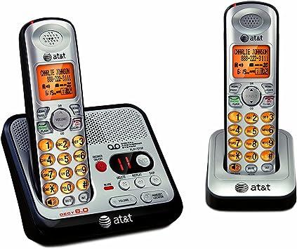 At T El52200 Dect 6 0 2 Handset Cordless Phone Amazon Ca Electronics