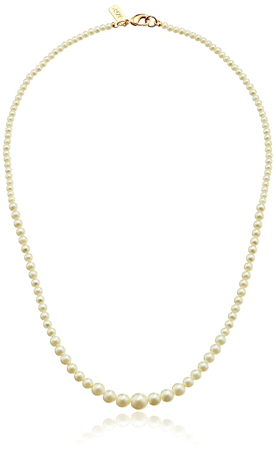 1928 Bridal Eloquence 18 Delicate Simulated Pearl Necklace 1928 Jewelry 42794