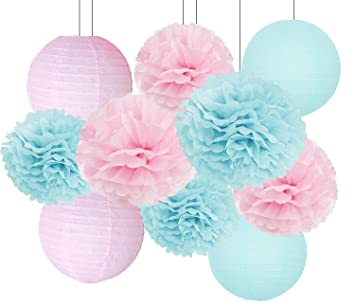 Amazoncom Gender Reveal Party Decorations Baby Shower Decorations