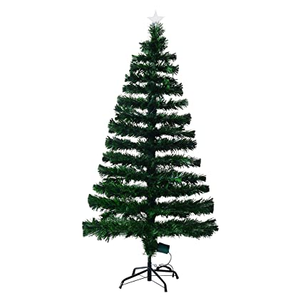 Árbol de Navidad Pino Abeto 150 cm Fibra Optica Multicolor INCLUYE ...