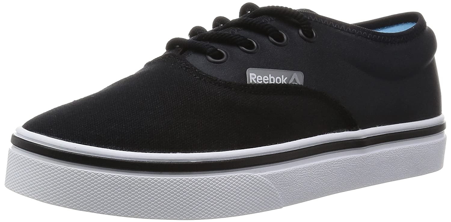 31d26ad30427a2 Reebok Womens Classics Womens Skyscrape Viva Lace Trainers in Black-White -  UK 4.5  Amazon.co.uk  Shoes   Bags