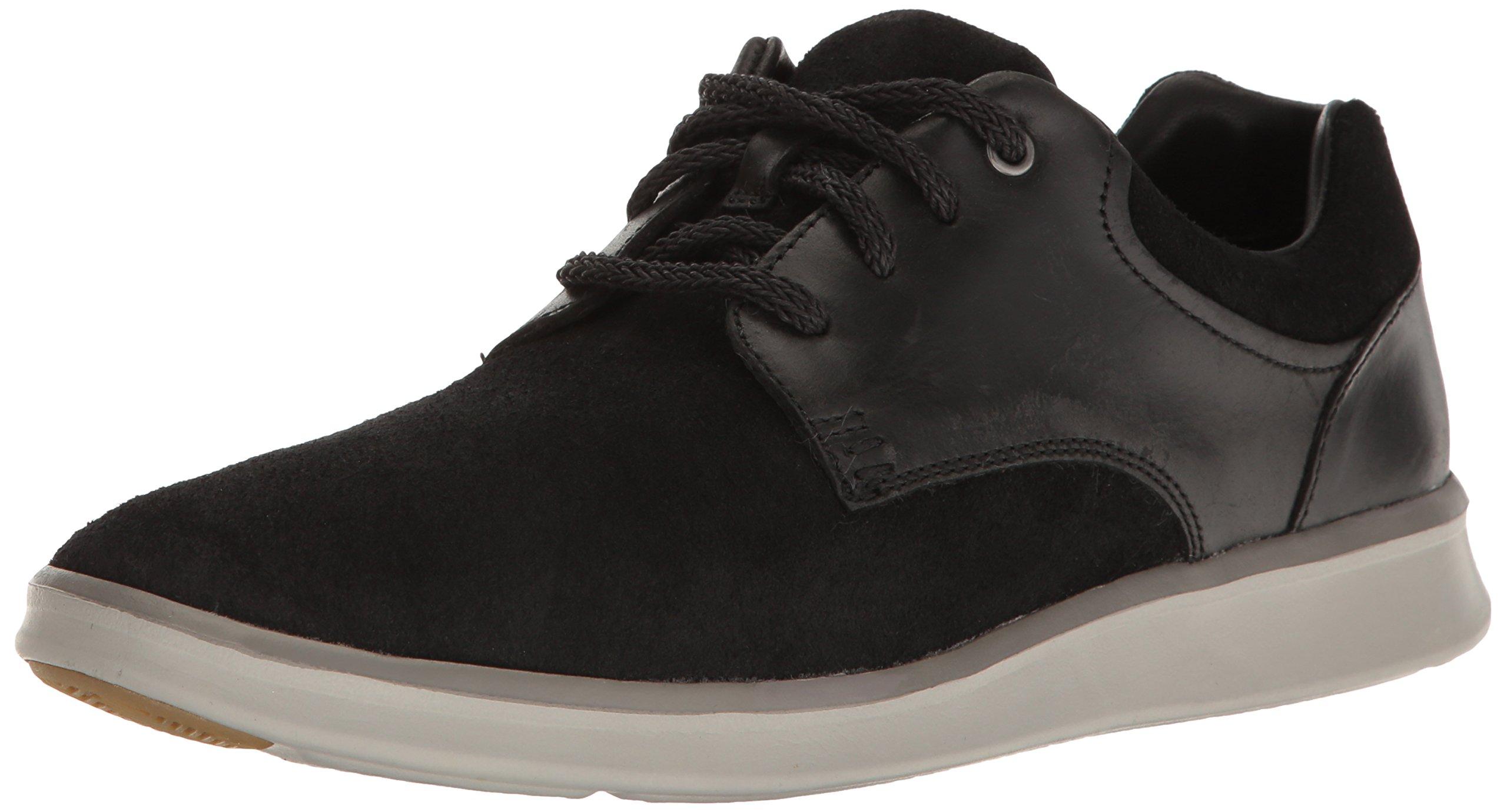 UGG Men's Hepner Fashion Sneaker, Black, 12 M US