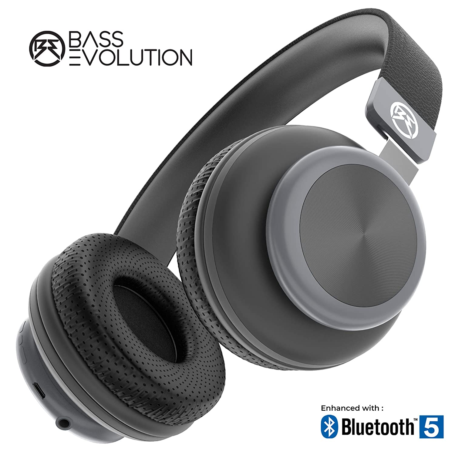 Bass Evolution Latitude Bluetooth 5.0 Wireless Headphones