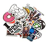 StillCool Pack of 200 Stickers Skateboard Snowboard Vintage Vinyl Sticker Graffiti Laptop Luggage Car Bike Bicycle Decals Mix Lot Fashion Cool
