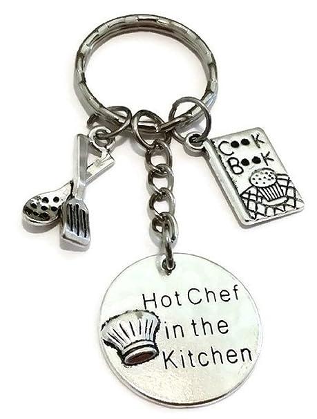 Llavero, diseño de chef, Chef Llavero, Chef encanto llavero, llavero, diseño