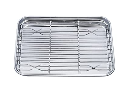 stainless ovens professional oven compact toaster pan tray steel cookware pin ovenware teamfar