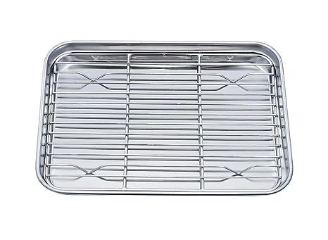 Amazon.com: TeamFar - Bandeja para horno con bandeja de ...