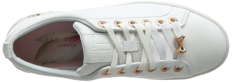 Ted Baker Damen Kelleip Sneaker, Multicolour Weiß Multicolour Sneaker, 121d6a