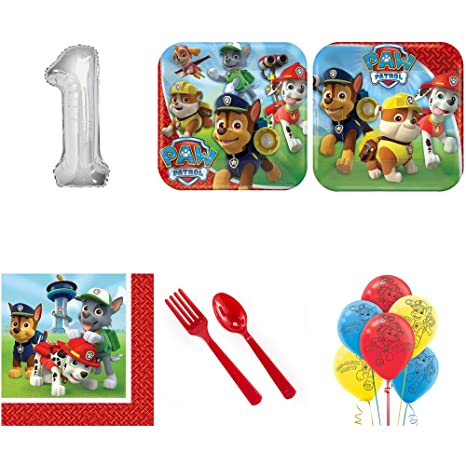 Image Unavailable Not Available For Color Paw Patrol 1st Birthday
