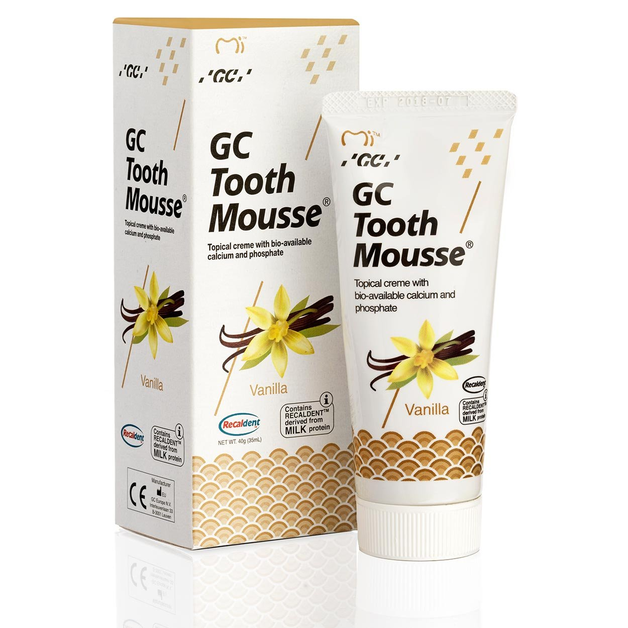 GC Tooth Mousse Vanilla