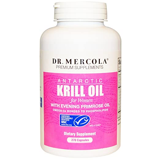 Product thumbnail for Dr. Mercola Antarctic Krill Oil
