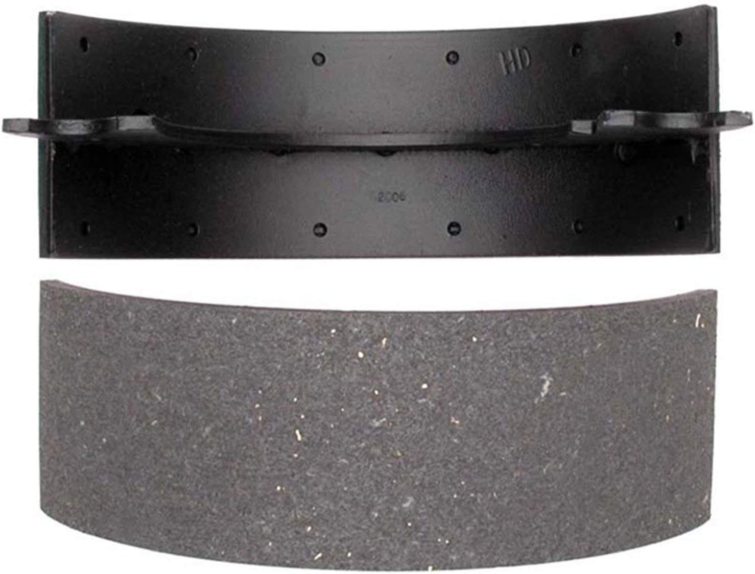 ACDelco 17770B Professional Bonded Rear Drum In-Hat Parking Brake Shoe Set