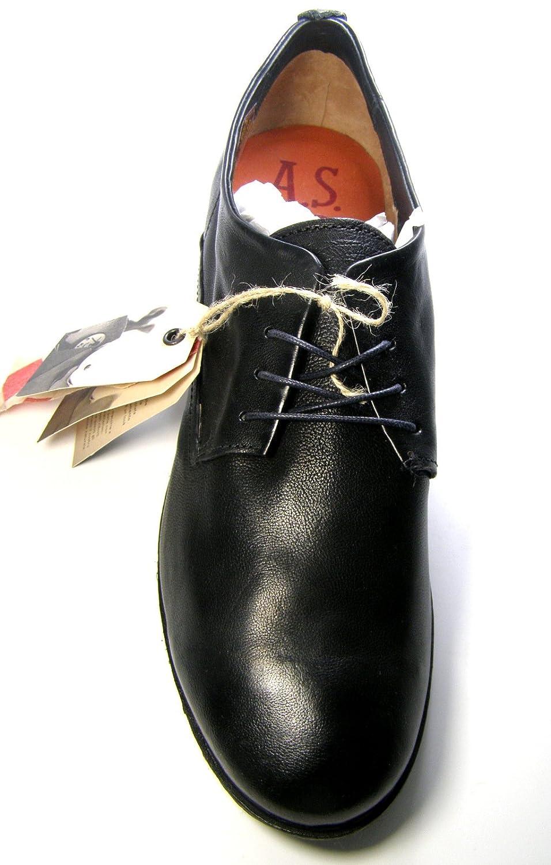 A.S.98 Echtleder Herren Schnürschuhe Schnürschuhe Schnürschuhe Größe 45 c22bf5