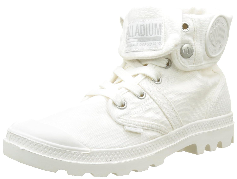 Weiß (Marshmallow Marshmallow G57) Palladium Damen Pallabrousse Baggy Hohe Turnschuhe, grau