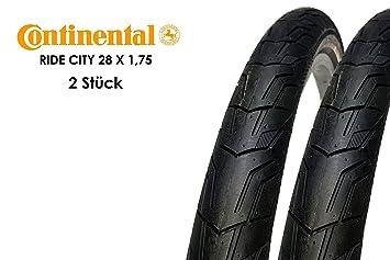 2 unidades) 28 pulgadas Continental Ride City - Cubiertas para ...