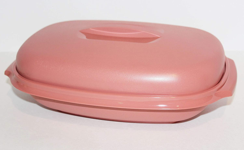 Tupperware Vintage Micro Steamer Microwave Southwestern Mauve Pink