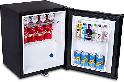 glass front mini fridge