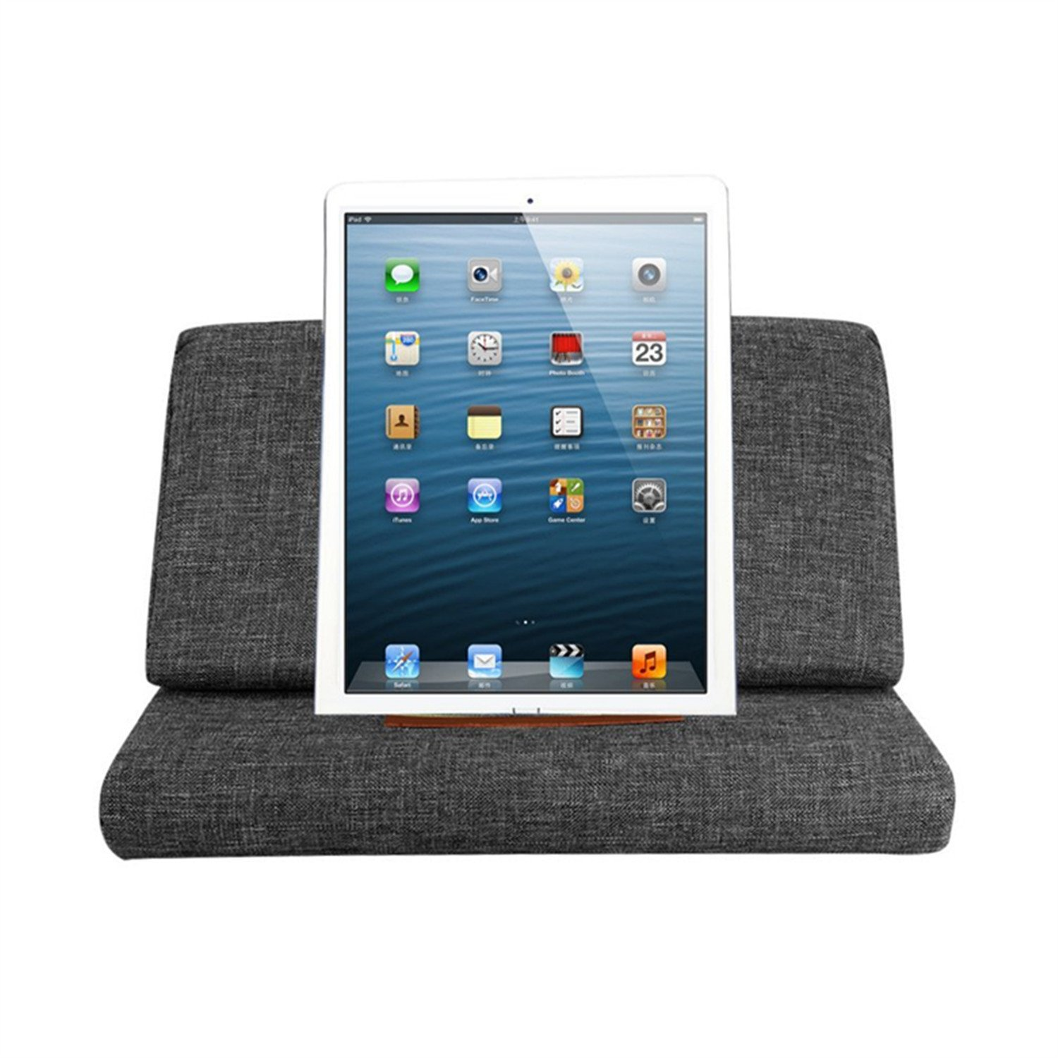 vipe tablet pillow for ipad reading pillow mini tablet ipad holder sofa reading stand ipad. Black Bedroom Furniture Sets. Home Design Ideas