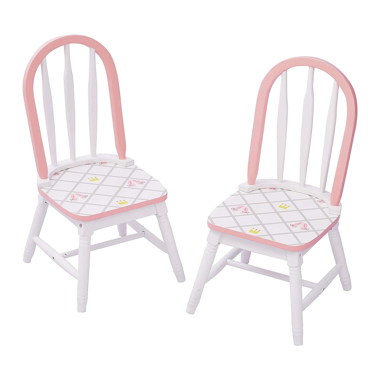la calidad primero los consumidores primero Fantasy Fields Swan Lake Lake Lake Swan Lake Ballerina Juego de 2 sillas   Muebles de madera pintados a mano para niños   La mesa se vende por separado  Obtén lo ultimo