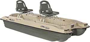 Pelican - Boat BASS Raider 10E - 2 Person Fishing Boat - 10 ft -Comes with a prewired Motor Mount, Khaki/Beige, Model Number: BBA10P205-00