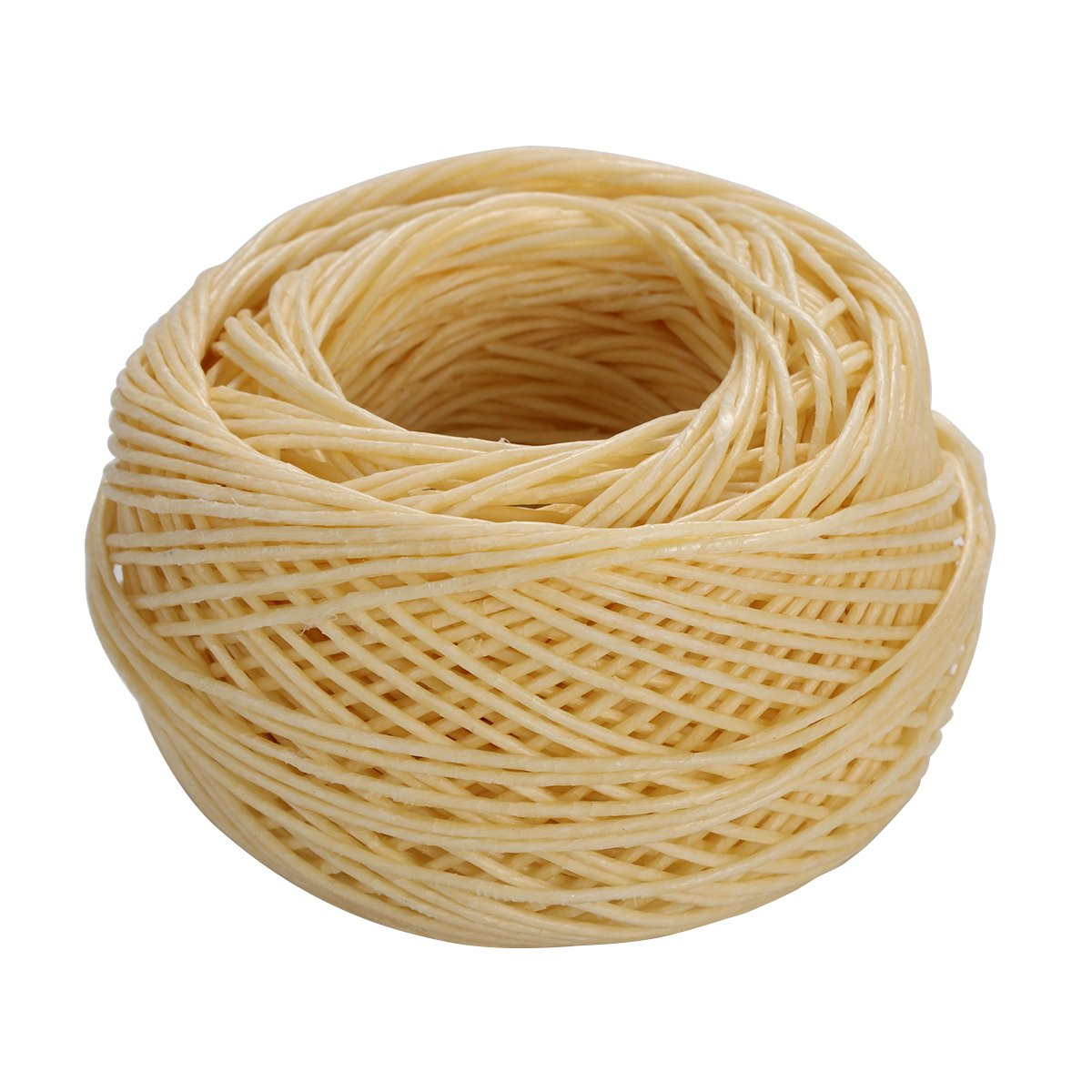 rosenice 61 M Strand Waxed Cotton Wick Candle Cotton for Candle Craft Candle Making Craft Project