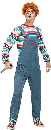 Smiffys Disfraz de Chucky para hombre: Amazon.es: Juguetes y juegos