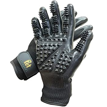 Pet Magasin Grooming Gloves One Size Fit All Works for Dogs