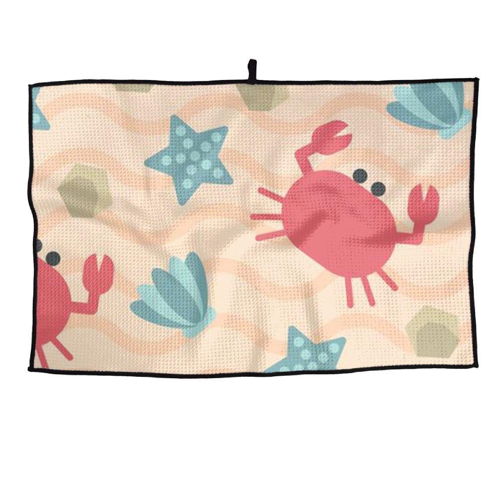 Juego Life Maryland Crab Toalla de Golf Personalizada de Microfibra Toalla de Deporte: Amazon.es: Hogar