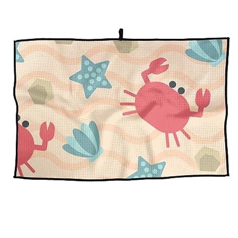 Juego Life Maryland Crab Toalla de Golf Personalizada de Microfibra Toalla de Deporte