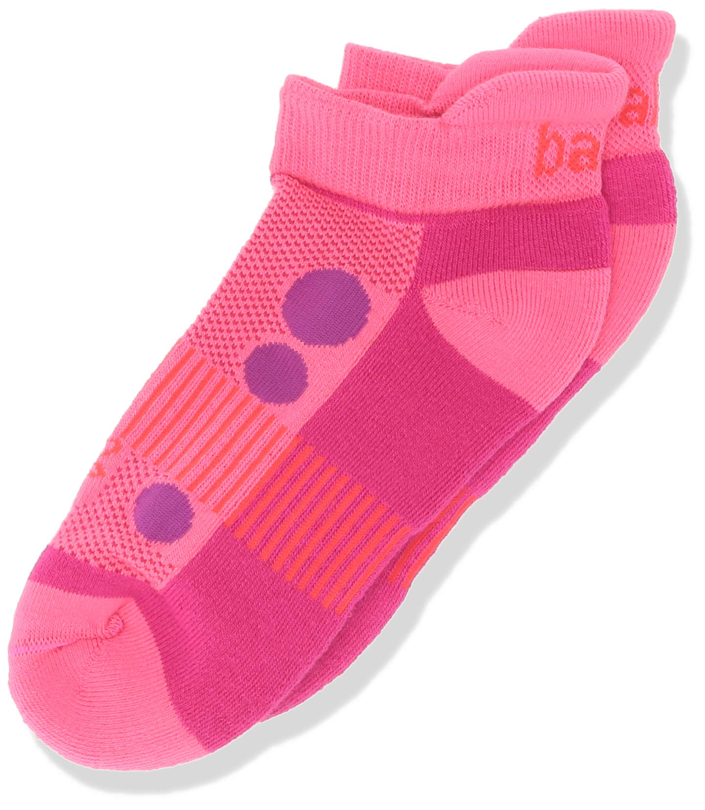 Balega Kids Hidden Cool Socks (1 Pair), Watermelon/Pink, X-Large by Balega