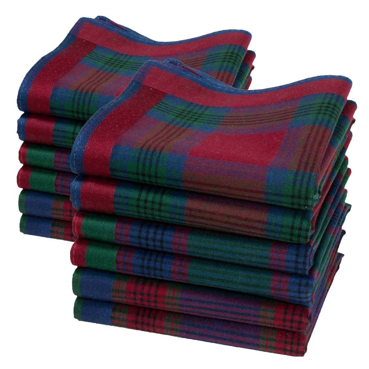 Man Jules hankerchief - Size 16 square - 6 units Merrysquare