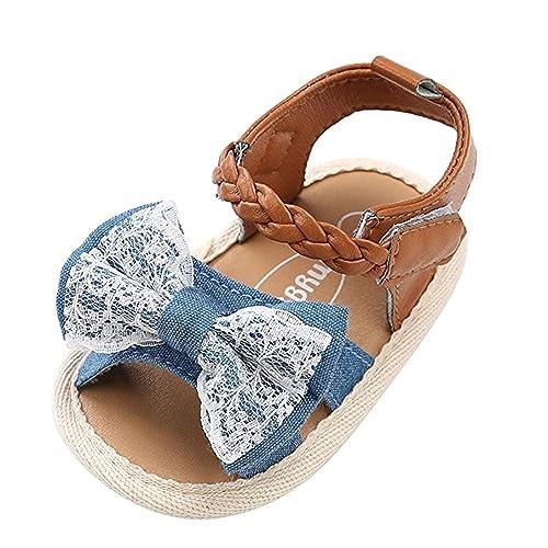 e1e081f1d09b3 keephen Zapatos de Verano para Bebés Sandalias para Niños Tejer Zapatos  Casuales Zapatos de Princesa Zapatos para Niña Primeros Andar  Amazon.es   Zapatos y ...