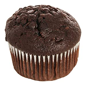 Otis Spunkmeyer Delicious Essentials Chocolate Chocolate Chip Muffin, 4 Ounce -- 24 per case.