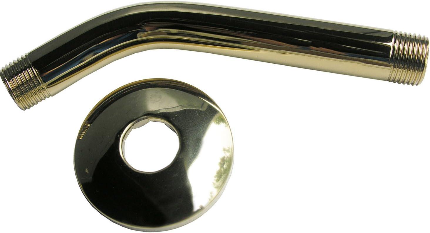 Chrome Plated LASCO Simpatico 82463C 10 S Shower Arm