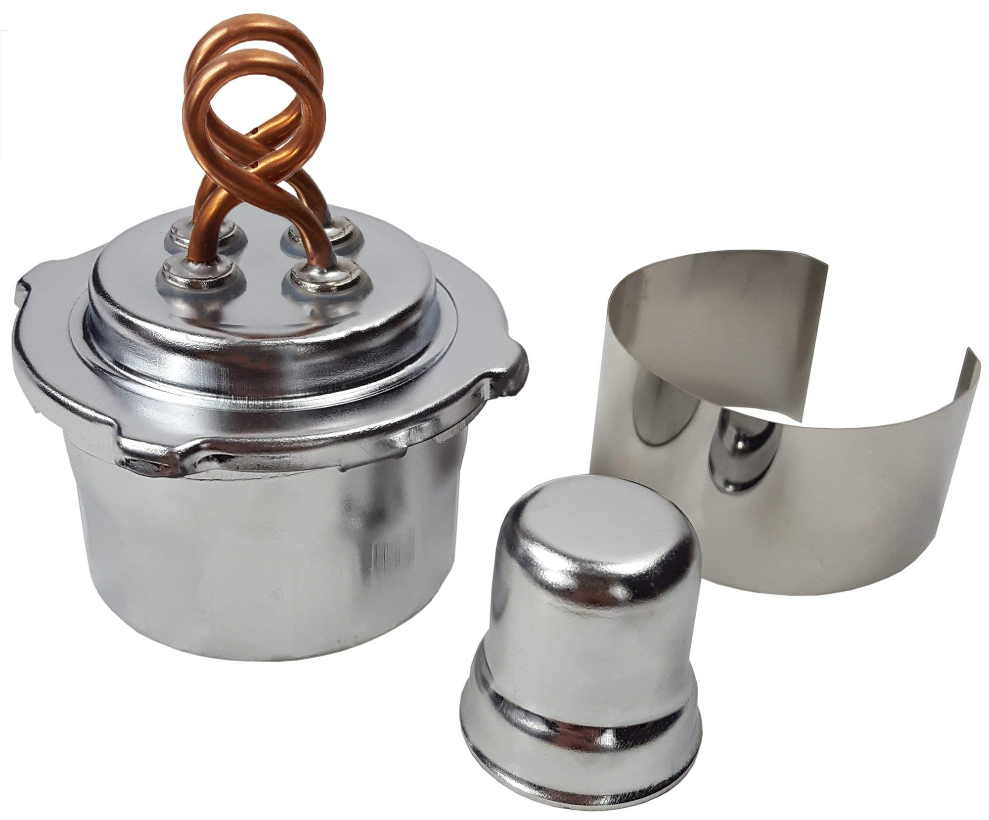GSC International 42002 Alcohol Burner with Dual Wick, 100 mL Capacity