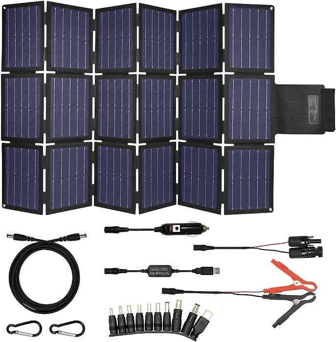 Top 10 Folding Solar Power Bank For 19V Laptop