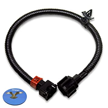 hqrp knock sensor wiring harness compatible with nissan 200sx 240sx altima d21 frontier maxima pathfinder pickup quest infiniti g20 i30 j30 q45 qx4 LS2 Wiring Harness