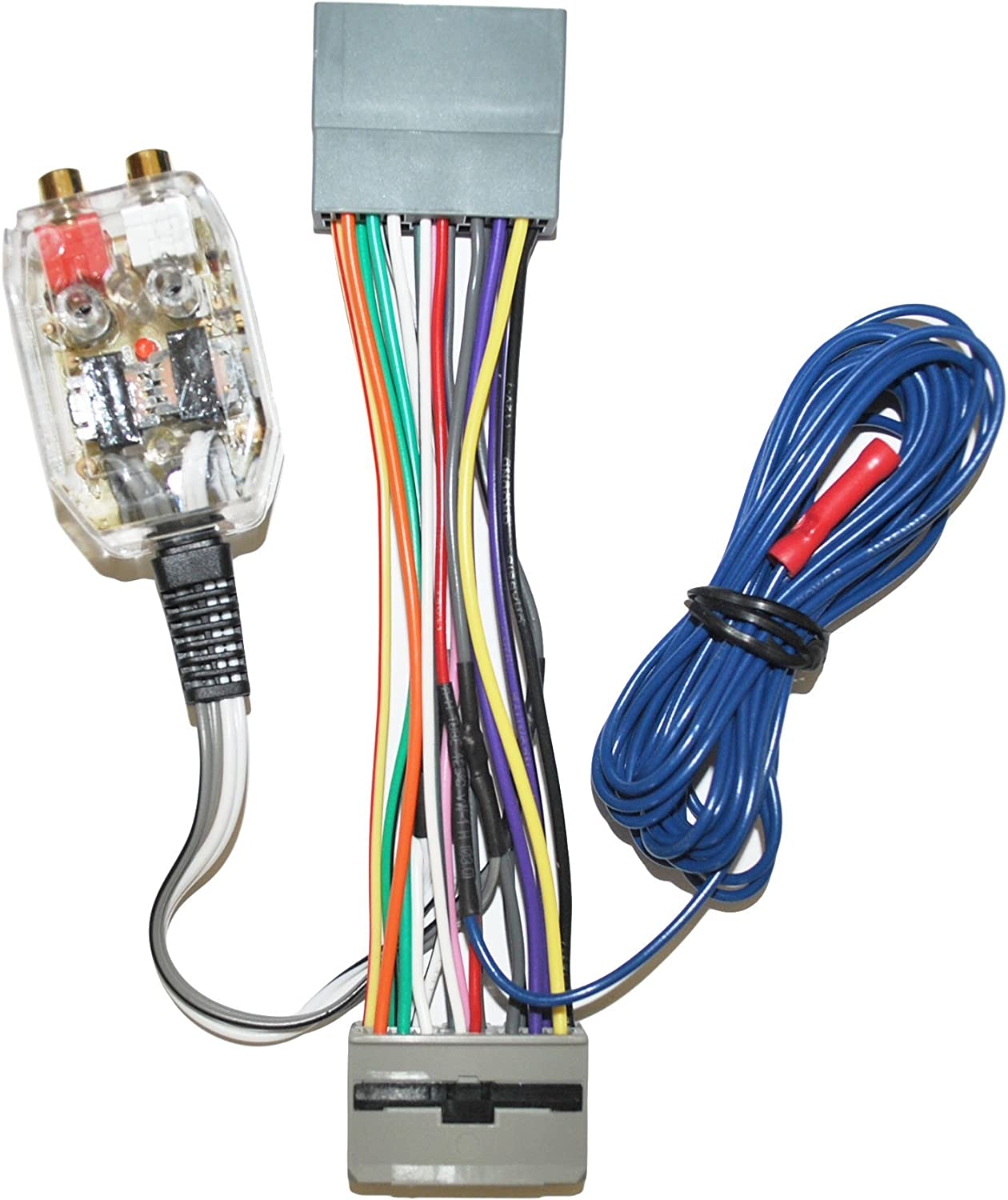 CAR STEREO RADIO REPLACEMENT FACTORY INTERFACE W// WIRING HARNESS ADAPTER PLUG