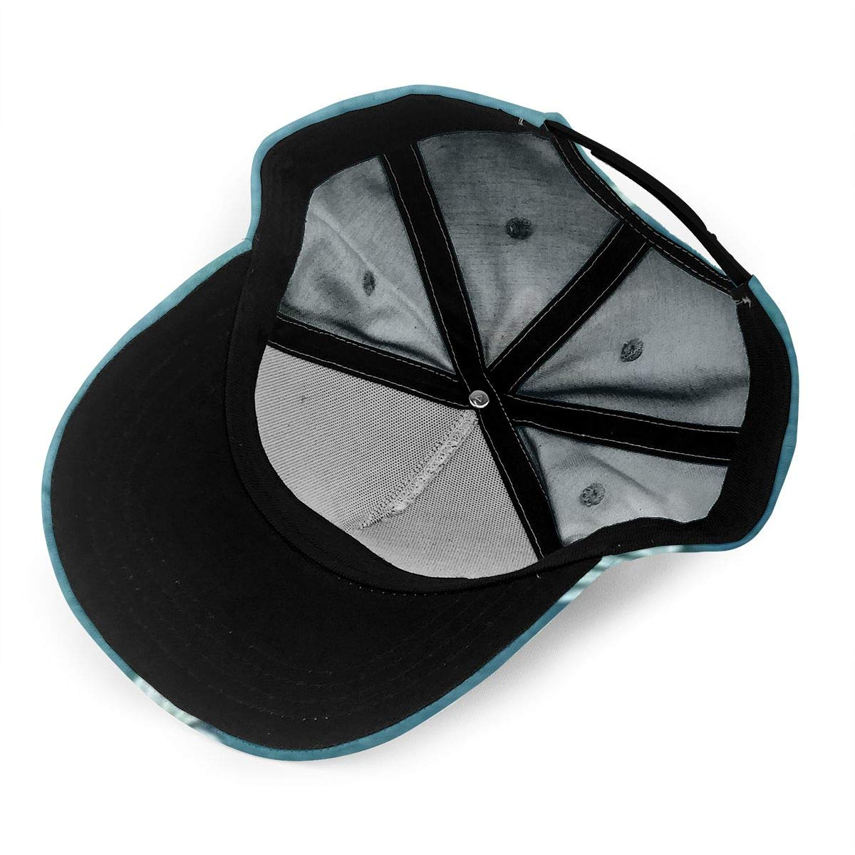 SKOKT Oxeye Daisy Printing Fashion Classic Baseball Cap Unisex Adjustable Velcro