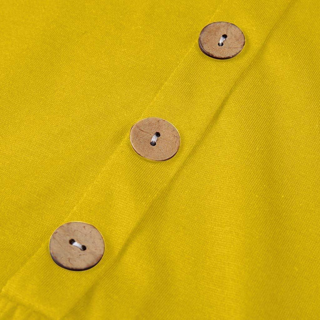 MILIMIEYIK Blouse Womens Summer Sundress Spaghetti Strap Button Down Dress with Pockets