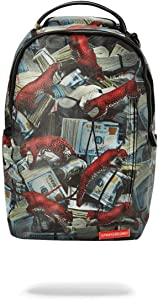 SPRAYGROUND BACKPACK RED LEOPARD MONEY