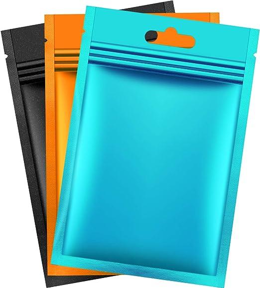 "36 Pcs Mylar Flat Zip Lock Bag ~ Shiny Silver on Both Sides~ 8/"" x 10/"" Inside"