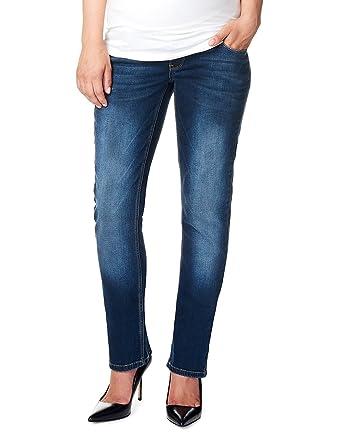 Noppies - Jeans OTB Comfort Mena - Jeans Femme, Bleu (Dark Stone Wash c296 162625f93832