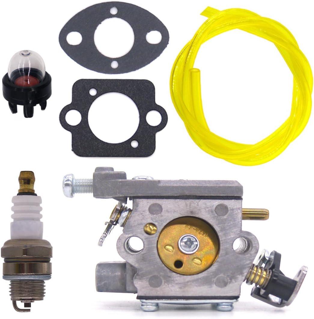 FitBest Carburetor for Homelite 35cc 38cc 42cc Chainsaw OEM# 309362001 309362003 300939006 Carb UT-10580,UT-10582