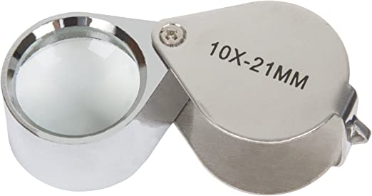 Fast shippiong! Quality 16 x 25 mm Jeweler /& collector/'s LOUPE