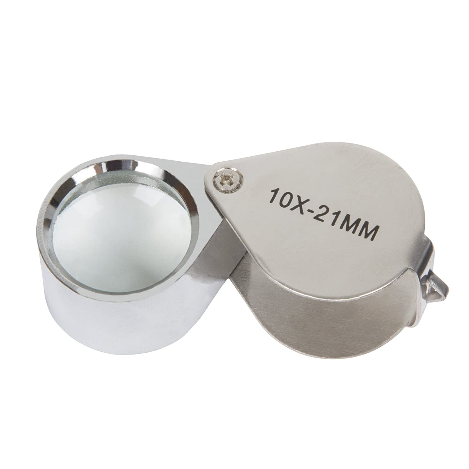 Stalwart 30X Jewelers Eye Loupe Magnifier with Case