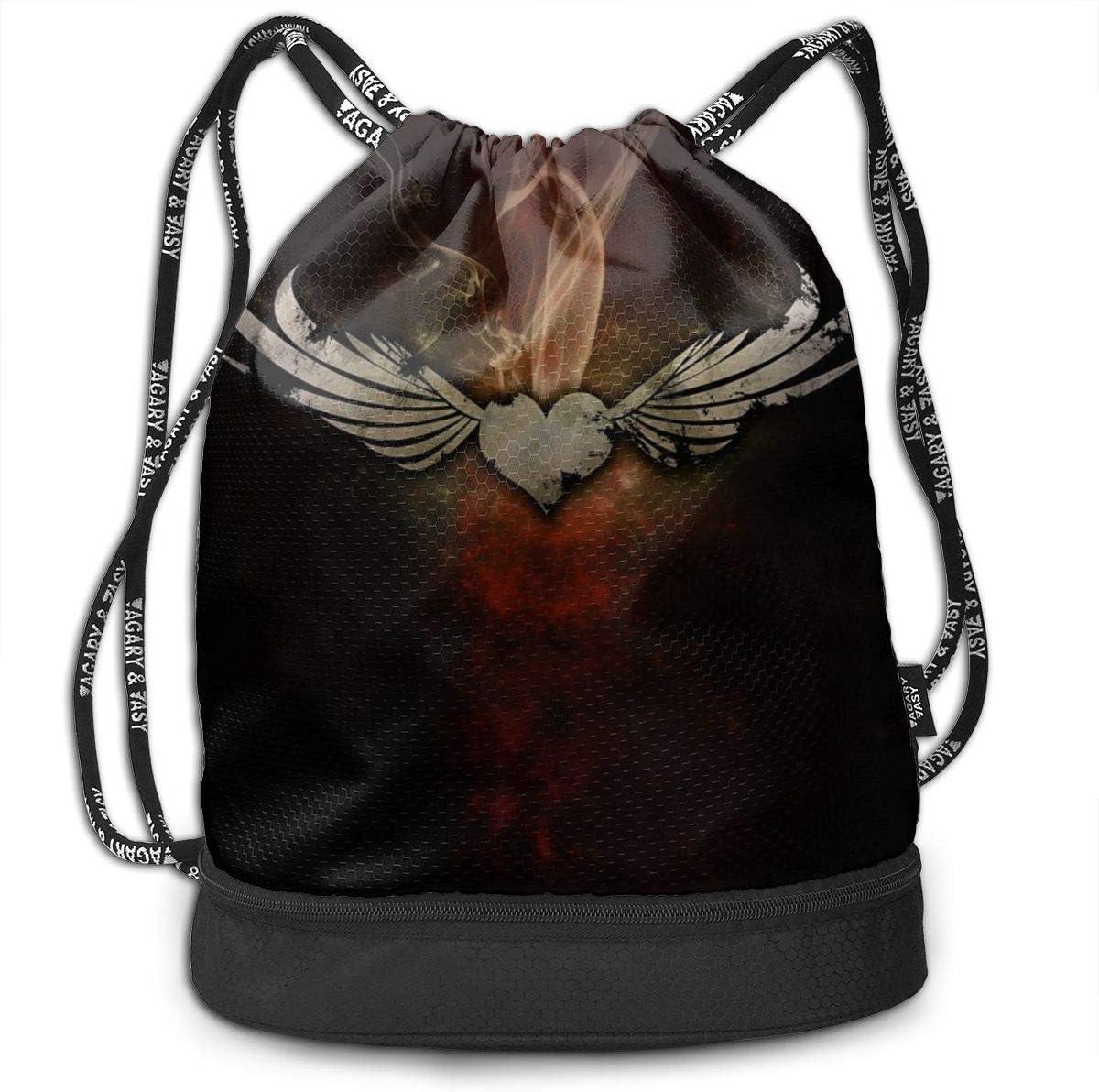 GymSack Drawstring Bag Sackpack Cross Sport Cinch Pack Simple Bundle Pocke Backpack For Men Women